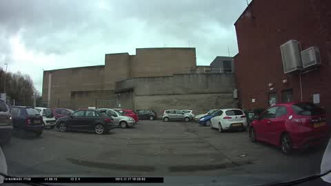 Car park hit and run