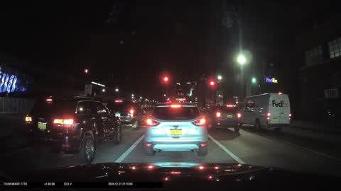 Car accident hit-and-run